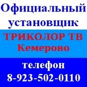 Спутниковое телевидение Триколор Сибирь ТВ с установкой в Кемерово