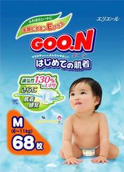Японские подгузники GOON 840 руб.