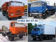 Продажа новых КАМАЗов;  43118, 65115, 45144, 45143,  53215,  лесовозы,  изоте