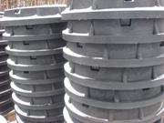 Люк канализационный полимерпесчаный  от производителя