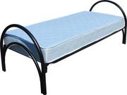 Металлические кровати 1-ярусные,  кровати со спинками ДСП,  кровати опт