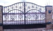 Ворота,  калитки металлические кованые