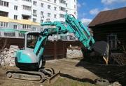 Аренда мини-экскаватора kobelco SK 30UR-5