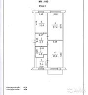 Продам квартиру КЕМЕРОВО,  Спортивная,  18. 3-к квартира 62 м²  3 этаж