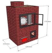 Печь,  пиролизную,  построим или предост. техдокум. для самостоятельного