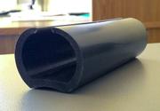 Термостойкий силиконовый промышленный уплотнитель для ворот камер суш.