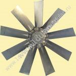 Крыльчатка осевого вентилятора рервесивный для камер сушильных