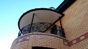 Балкон кованый, балконные ограждения