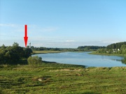 Жилой дом на берегу озера. Беларусь