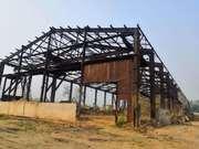 Продам Ангар 24х90 м,  высота 10 м. Общий объем металла 170 т